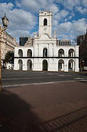 The Cabildo is a very important historic monument since there was sanctioned national independence