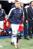 Italy's Marco Verratti during match between Spain and Italy to clasification to World Cup 2018 at Santiago Bernabeu Stadium in Madrid, Spain September 02, 2017. (ALTERPHOTOS/Borja B.Hojas)