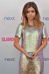 SARAH HYLAND at the Glamour Women of The Year Awards in Association with Next held in Berkeley Square Gardens, Berkeley Square, London on 3rd June 2014.