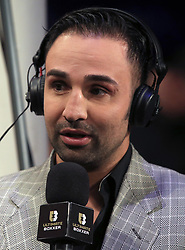 Paulie Malignaggi during the Ultimate Boxxer competition at the M.E.N. Arena, Manchester. PRESS ASSOCIATION Photo. Picture date: Friday April 27, 2018. See PA story BOXING Manchester. Photo credit should read: Peter Byrne/PA Wire