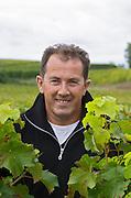 Eric Duffau, owner. Chateau Belle-Garde, Bordeaux, France