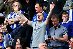 Sheffield Wednesday fans cheer before the match - Mandatory by-line:  Matt McNulty/JMP - 24/09/2017 - FOOTBALL - Hillsborough - Sheffield, England - Sheffield Wednesday v Sheffield United - Sky Bet Championship