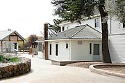 The Alviso Adobe home photographed at Alviso Adobe Park in Milpitas, California, on March 19, 2013. (Stan Olszewski/SOSKIphoto)