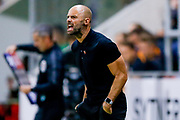 Rotherham United Manager Paul Warne shouts at his players during the EFL Sky Bet Championship match between Rotherham United and Hull City at the AESSEAL New York Stadium, Rotherham, England on 21 August 2018.