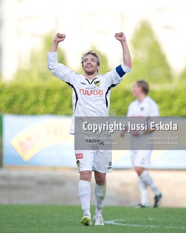 Jussi Vasara. Inter - Honka. Veikkausliiga.2.6.2013. Photo: Jussi Eskola