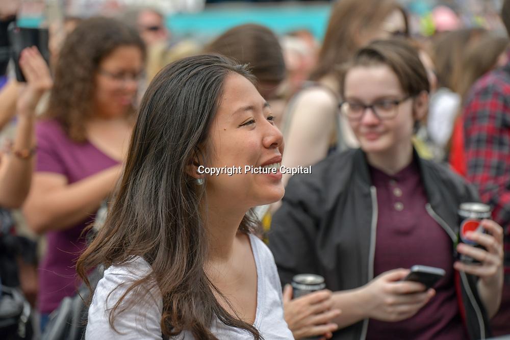 West End Live 2019 - Day 2 in Trafalgar Square, on 23 June 2019, London, UK.