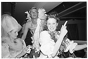 William Pand and Ari-Campbell McNain-Wilson, Piers Gaveston Ball, Park Lane Hotel 13.05.83© Copyright Photograph by Dafydd Jones 66 Stockwell Park Rd. London SW9 0DA Tel 020 7733 0108 www.dafjones.com
