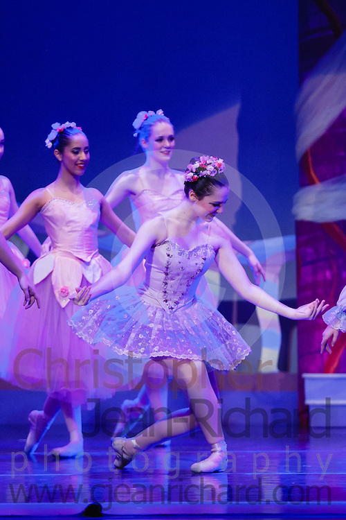 """Dancers of the Woodlands Ballet Ensemble and students of the Payne Academy of the Performing Arts onstage in the final dress rehearsal for """"The Nutcracker"""".<br /> <br /> Performances November 23rd to 25th, 2012 at Woodlands College Park HS Theatre, The Woodlands, Texas.<br /> <br /> http://www.payneacademy.com"""