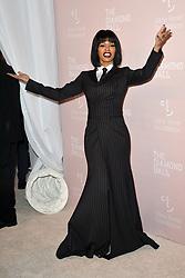 September 13, 2018 - New York, NY, USA - September 13, 2018  New York City..Teyana Taylor attending the 4th Annual Clara Lionel Foundation Diamond Ball on September 13, 2018 in New York City. (Credit Image: © Kristin Callahan/Ace Pictures via ZUMA Press)