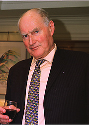 LORD BALFOUR OF INCHRYE at an exhibition in london on 3oth March 1998.<br /> MGK 3 MO