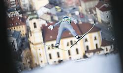 03.01.2014, Bergisel Schanze, Innsbruck, AUT, FIS Ski Sprung Weltcup, 62. Vierschanzentournee, Training, im Bild Michael Hayboeck (AUT) // Michael Hayboeck (AUT) during practice Jump of 62nd Four Hills Tournament of FIS Ski Jumping World Cup at the Bergisel Schanze, Innsbruck, <br /> Austria on 2014/01/03. EXPA Pictures © 2014, PhotoCredit: EXPA/ JFK