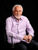 Kenny Rogers poses for a portrait at The Hot Seat on Wednesday, Sept. 4, 2013 in Nashville, Tenn. (Photo by Donn Jones/Invision/AP)