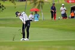 SINGAPORE, March 1, 2019  Park Sung Hyun of South Korea competes on the second day of the HSBC Women's World Championship held at Singapore's Sentosa Golf Club on March 1, 2019. (Credit Image: © Then Chih Wey/Xinhua via ZUMA Wire)