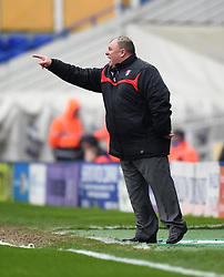 Rotherham United manager, Steve Evans on the side-line at St Andrew's Stadium - Photo mandatory by-line: Paul Knight/JMP - Mobile: 07966 386802 - 03/04/2015 - SPORT - Football - Birmingham - St Andrew's Stadium - Birmingham City v Rotherham United - Sky Bet Championship