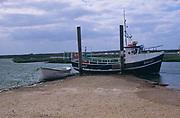 AE2KR7 Boats Brancaster Staithe, Norfolk, England
