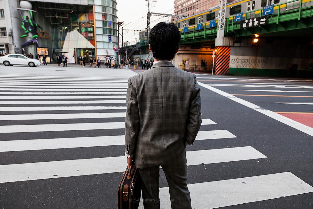 The street of Shinjuku