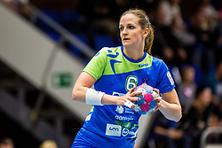 Ana Gros of Slovenia during friendly game between national teams of Slovenia and Serbia on 29th of September, Celje, Slovenija 2018