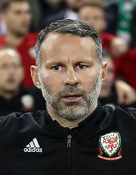Wales head coach Ryan Giggs during the UEFA Nations League, League B, Group four match at The Aviva Stadium, Dublin