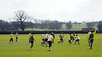 Photo: Chris Ratcliffe.<br />Arsenal Training Session. UEFA Champions League. 18/04/2006.<br />Arsenal players during training before their match with Villareal