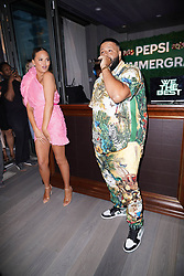 Chrissy Teigen, DJ Khaled and Pepsi promote the launch of #Summergram in New York City.