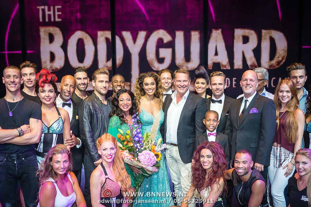 NLD/Utrecht/20160914 - The Bodyguard 1 jarig bestaan, cast