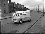 Macleans Van at Ringsend.16/03/1957