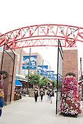 Navy Pier entrance. Chicago Illinois USA