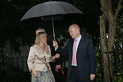 FFION AND WILLIAM HAGUE, Sir David and Lady Carina Frost annual summer party, Carlyle Sq. London. 5 July 2007  -DO NOT ARCHIVE-© Copyright Photograph by Dafydd Jones. 248 Clapham Rd. London SW9 0PZ. Tel 0207 820 0771. www.dafjones.com.
