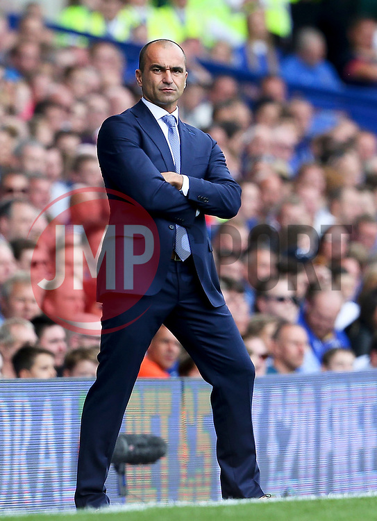 Everton Manager, Roberto Martinez  - Mandatory byline: Matt McNulty/JMP - 07966386802 - 08/08/2015 - FOOTBALL - Goodison Park -Liverpool,England - Everton v Watford - Barclays Premier League