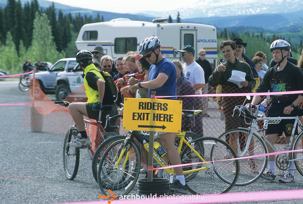 Haines Alaska bike race