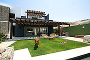 Casa Gabión is a contemporary Mexican home, designed by a renowned Mexican architect Javier Gutierrez Toscano. His sustainable and ecological homes have brought him awards on national and international scale. Located in beautiful Fonatur area of San Jose del Cabo, in Baja California Sur, Mexico, Casa Gabión makes it possible for you to enjoy all the pleasures of this beautiful town. It's location in the urban center of the town allows you to explore historic downtown, shopping area, entertainment, schools and medical institutions within a walking distance. The swimmable beach and beautiful San Jose Estuary is a 5 minute drive away. <br /> <br /> The home is designed taking in consideration hot and dry Baja climate; the orientation of the home, the positioning of the windows, terraces and openings allow the air to flow throughout the home thus minimizing the need to use air-conditioning and with it assuring low maintenance cost. Local and natural elements, sleek and clean lines, and attention to details are aimed to provide comfort to the home, and at the same time giving it a contemporary design touch. <br /> <br /> Special signature elements of the home include a 'gabión' rock wall, which gives the home an amazing visual effect and at the same time it has a protection and air circulation function. The entertaining area with the pool and jacuzzi, which can be seamlessly connected with the kitchen and dining area at the main level, is thoughtfully planned with family and adult entertainment in mind. Casa Gabión is a beautiful contemporary home, in which you are able to appreciate the Baja nature, enjoy the pleasures of the Baja, entertain with friends and family and live in your own piece of paradise. <br /> <br /> Casa Gabion is for sale. Contact us at info@LA76.com for more information and tours.