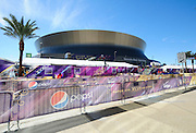 FILE---2/3/13 New Orleans LA.-NFL Security and fans get ready for Super Bowl XLV11 outside the Mercedes Benz Super Dome. The Francisco 49er's take on the Baltimore Ravens Sunday Feb. 3 2013. Photo©Suzi Altman. 2/3/13 New Orleans LA.-NFL Security and fans get ready for Super Bowl XLV11 outside the Mercedes Benz Super Dome. The Francisco 49er's take on the Baltimore Ravens Sunday Feb. 3 2013Photo©Suzi Altman