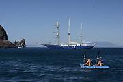 Tourists<br /> Galapagos Islands<br /> ECUADOR.  South America