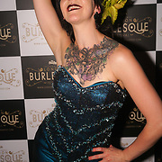 London,England,UK. 22th May 2017. Lou-Leigh Blue *Bristol, UK preforms at the London Burlesque Festival 2017 - Tattoo Revue at Moth Club, Hackney,London,UK. by See Li