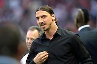 Zlatan Ibrahimovic - 23.05.2015 - PSG / Reims - 38eme journee de Ligue 1<br /> Photo : Andre Ferreira / Icon Sport