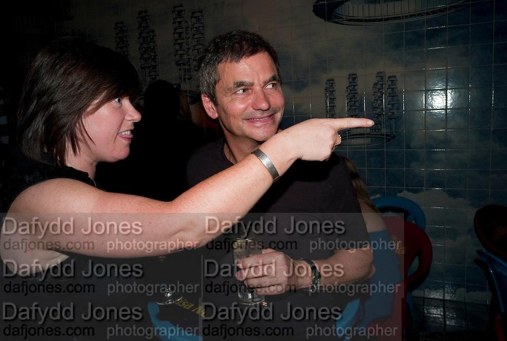 JANE WILSON; HARRY HANDLESMAN, Prada Congo Benefit party. Double Club. Torrens Place. Angel. London. 2 July 2009.