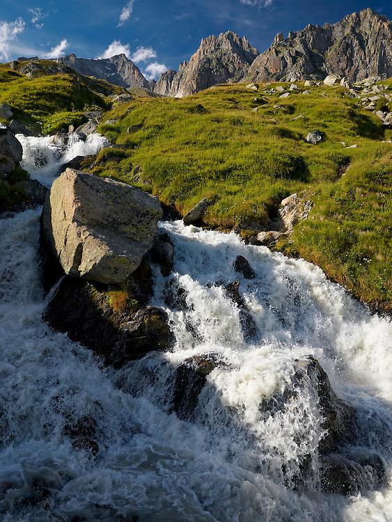 Switzerland - Furka waterfall
