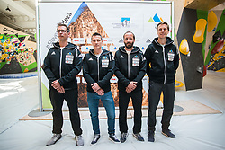 Slovenian coach national climbing team during press conference before the new season of climbing 2019, on April 1, 2019 in Ljubljana, Slovenia. Photo by Peter Podobnik / Sportida