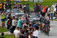 Bora - Hansgrohe during the 2018 UCI Road World Championships, Men's Team Time Trial cycling race on September 23, 2018 in Innsbruck, Austria - Photo Luca Bettini / BettiniPhoto / ProSportsImages / DPPI