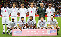 Fotball<br /> England v Kroatia<br /> Foto: Fotosports/Digitalsport<br /> NORWAY ONLY<br /> <br /> England vs Croatia World Cup Qualifier Group 6 09/09/09<br /> <br /> Lagbilde England