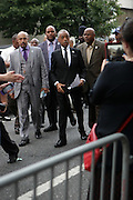 New York, NY- July 23: Rev. Al Sharpton attends the funeral of Eric Garner, who fell victim to the tactics of the NYPD after NYPD Officers rendered him in chokehold on July 20, 2014 in Staten Island. His funeral was held on July 23, 2014 at Bethel Baptist Church in New York City.  (Terrence Jennings)