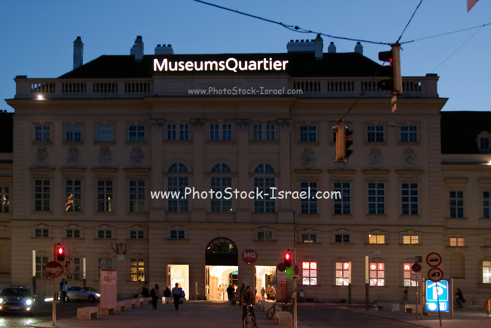 The Museumsquartier is a 60,000 m² large area in the 7th district of the city of Vienna, Austria; it is the eighth largest cultural area in the world.