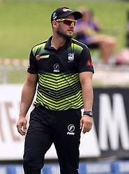 Christiaan Jonker of the Warriors during the T20 Challenge cricket match between the Lions and the Warriors at the Kingsmead stadium in Durban, KwaZulu Natal, South Africa on the 4th December 2016<br /> <br /> Photo by:   Steve Haag / Real Time Images