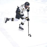 Manitoba during the Men's Hockey Home Game on Sat Jan 19 at Co-operators Center. Credit: Arthur Ward/Arthur Images