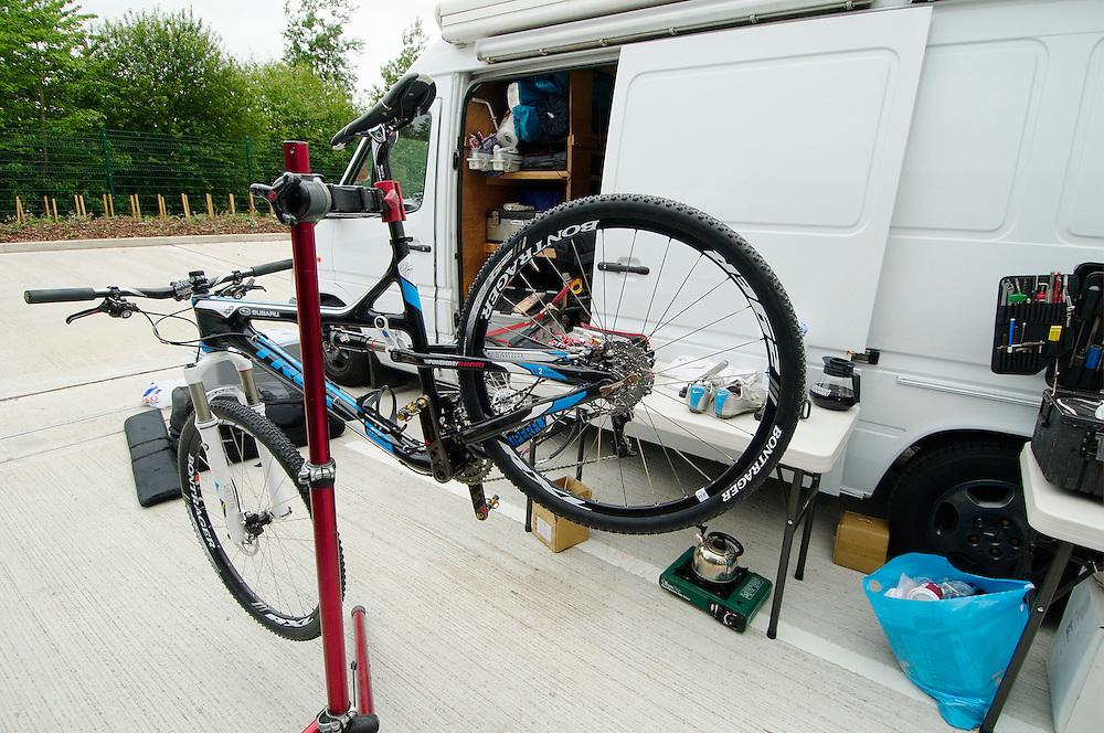 Subaru Trek team visit Milton Keynes