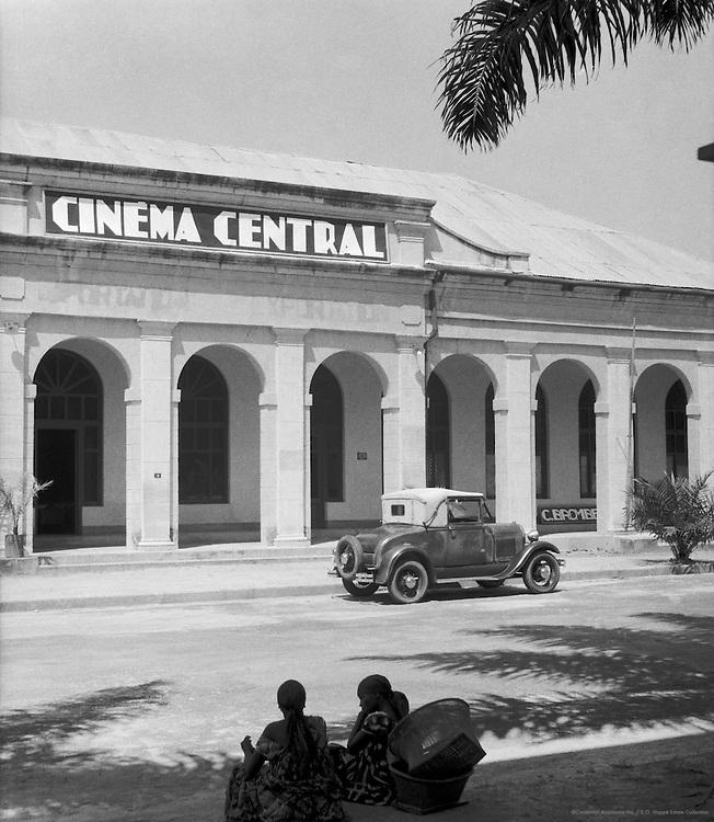 Cinemaville, Leopoldville (now Kinshasa), Belgian Congo (now Democratic Republic of the Congo), Africa, 1937