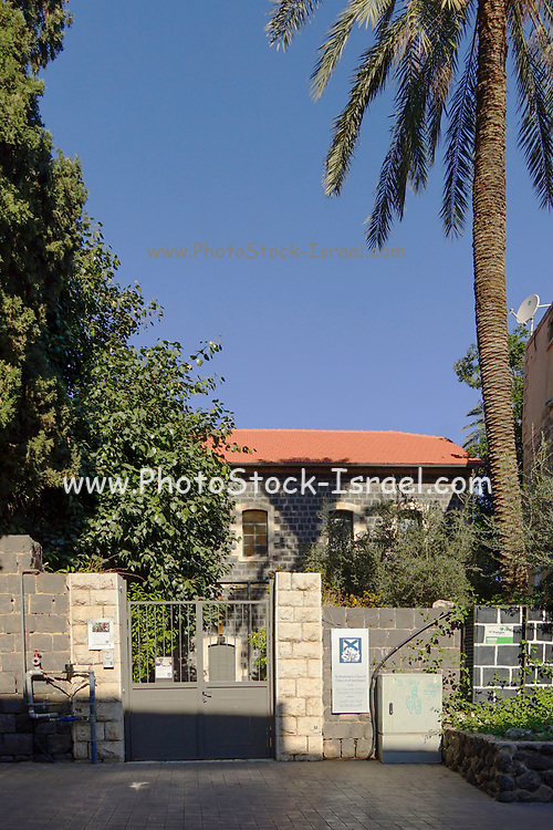 St. Andrew's Church. Church of Scotland The Promenade along the Sea of Galilee at Tiberias, Israel