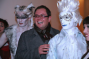 ALAN CARR. Gala performance of Night Of The Snow Queen, English National Ballet. Coliseum, London, WC2,pre performance party at  St Martins Lane Hotel, 45 St Martins Lane, London, WC2N 4HX. 12 December 2007. -DO NOT ARCHIVE-© Copyright Photograph by Dafydd Jones. 248 Clapham Rd. London SW9 0PZ. Tel 0207 820 0771. www.dafjones.com.
