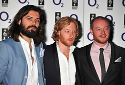 © licensed to London News Pictures. LONDON UK  01/07/11.Biffy Clyro attends the 2011 Silver Clef Awards held at the Hilton Park Lane in London. Please see special instructions for usage rates. Photo credit should read ALAN ROXBOROUGH/LNP
