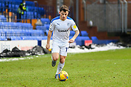 Tranmere Rovers midfielder Otis Khan during the EFL Sky Bet League 2 match between Tranmere Rovers and Bolton Wanderers at Prenton Park, Birkenhead, England on 23 January 2021.